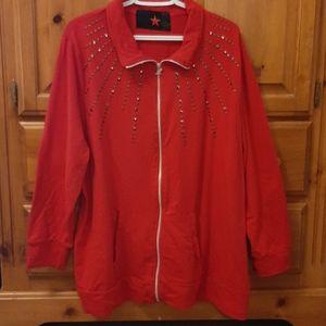 MXM Front Zip Sweatshirt